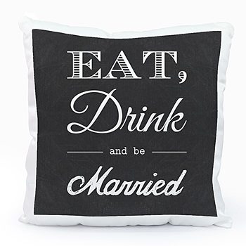 Coussin personnalisé - Be Married - 0