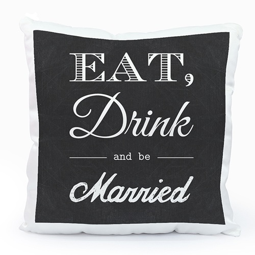 Coussin personnalisé - Be Married 40481