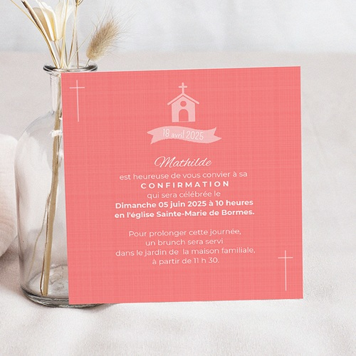 Invitation Confirmation  - Quo vadis 40580