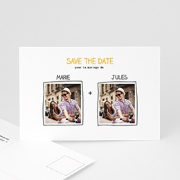 Save-The-Date - Cadre main - 0