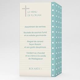 Menu de Communion - Mon petit  journal - 0