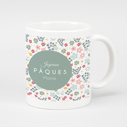 Mug Personnalisé - Pâque fleurie 41718
