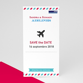 Save-The-Date - Airlines - 0