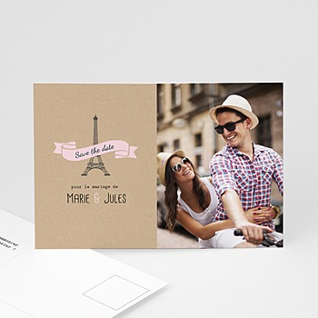 Save-The-Date - Love in Paris - 0