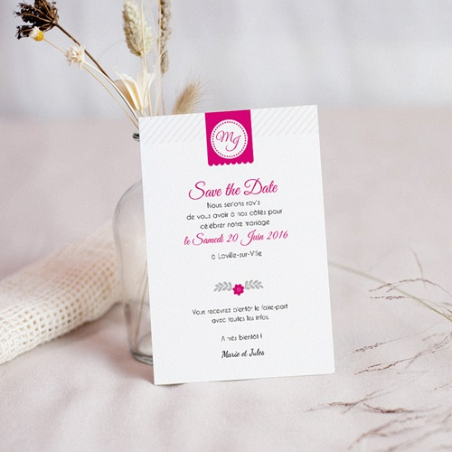 Save-The-Date - Simple et chic 42558