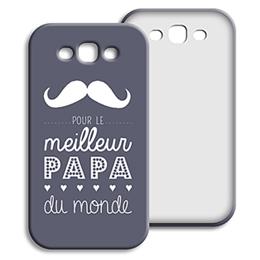 Coque Samsung Galaxy S3 - Message Papa - 0