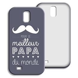 Coque Samsung Galaxy S4 - Message Papa - 0