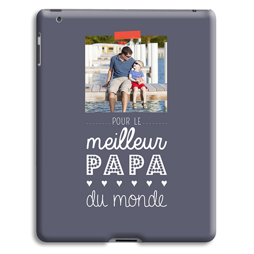 Coque iPad 2 - Message Papa 42871
