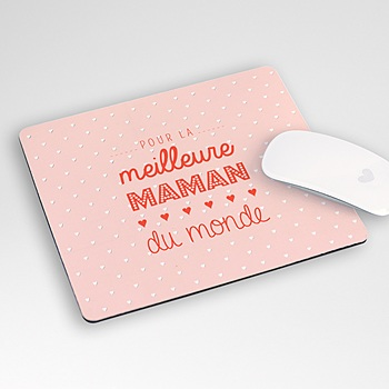 Tapis de souris personnalisé - Photos maman - 0
