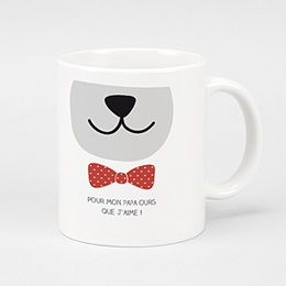Mug Personnalisé - Papa Ours - 0