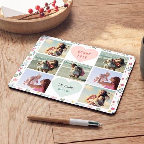Tapis de souris personnalisé - Motif Fleur 42920