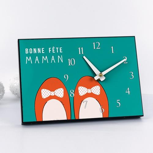 Horloge avec photo - Chaussures rouges 42922