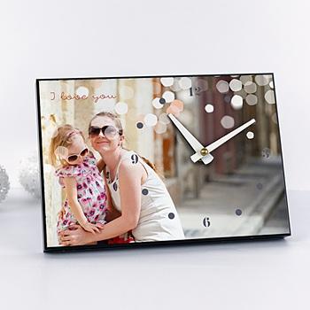 Horloge avec photo - Papa que j'aime - 0