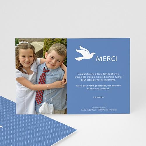 Remerciements Communion Garçon - Colombe immaculée 43191