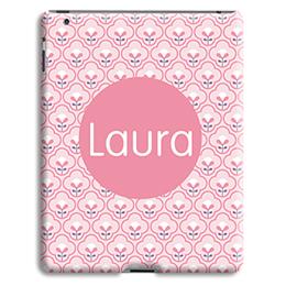 Coque iPad 2 - Tapisserie rose - 0