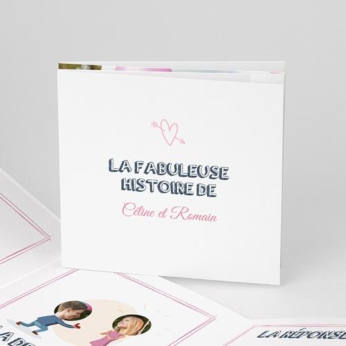 Faire-Part Mariage Personnalisés - BD amour 43272
