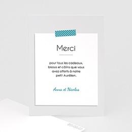 Remerciements Naissance Garçon - A compléter - 0