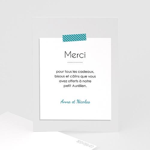 Remerciements Naissance Garçon - A compléter 43386