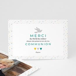 Remerciements Communion Garçon - Multi-couleurs - 0