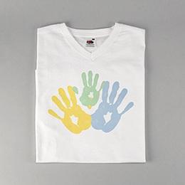 Tee-shirt homme - Petites mains - 0