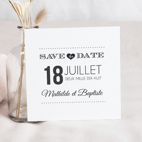 Save-The-Date - Antidater 43674