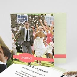 Remerciements Mariage Personnalisés - Amour de macaron - 0