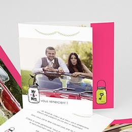 Remerciements Mariage Personnalisés - Flacons d'amour - 0