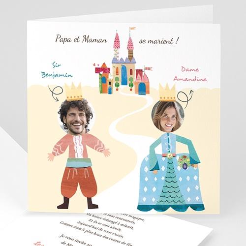 Faire-Part Mariage Personnalisés - Marche Nuptiale 44575