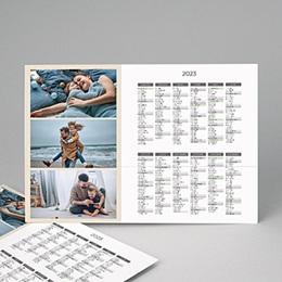 Calendrier Monopage - L'année 2012 - 4