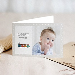 Faire-Part Naissance Garçon - Petits jouets 44656