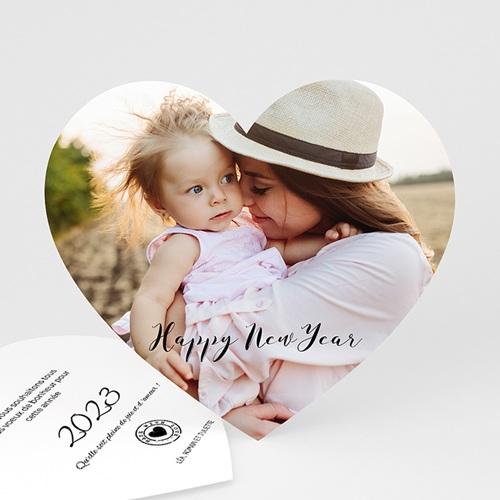 Carte de Voeux 2017 - Les voeux du Coeur 44753