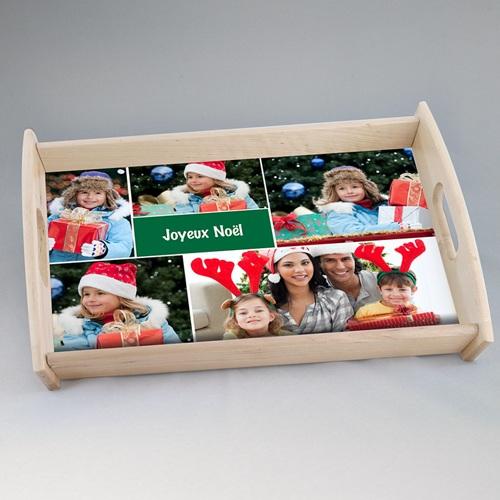 Plateaux personnalisés avec photos - Noël Multi-Photos 44795