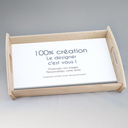 Plateaux personnalisés avec photos - 100% Créatif - 0