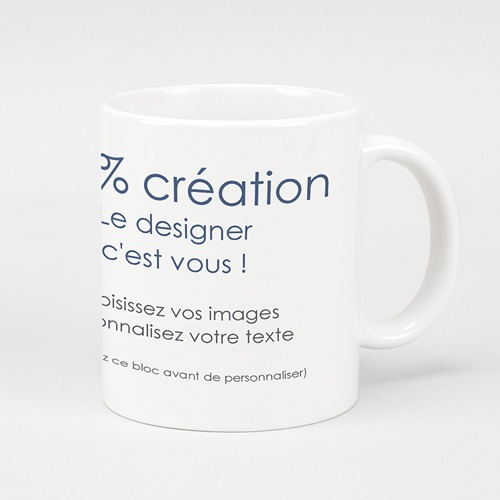 Mug Personnalisé - 100% Créatif 45136