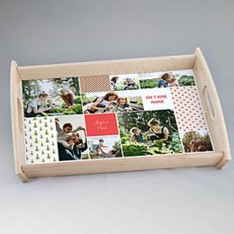 Plateaux personnalisés avec photos - Love Noel - 0