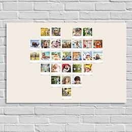 Poster personnalisé - Coeur Instantané - 0