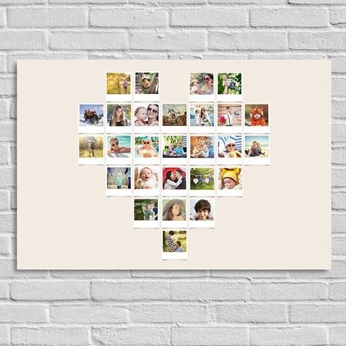 Poster personnalisé - Coeur Instantané 45207