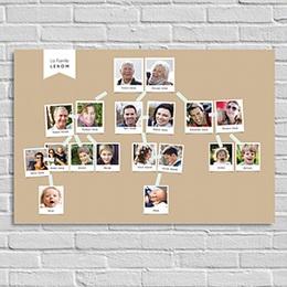 Poster personnalisé - Racines familiales - 0