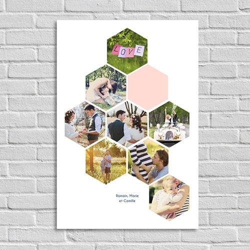 Poster personnalisé - Photoxagone Portrait 45219