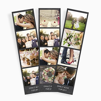 Magnet Photo - Ardoise & mariage - 0
