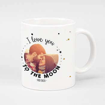Mugs Personnalisés  - To the Moon - 0