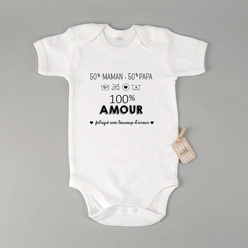 Body bébé - 100% Amour 45612