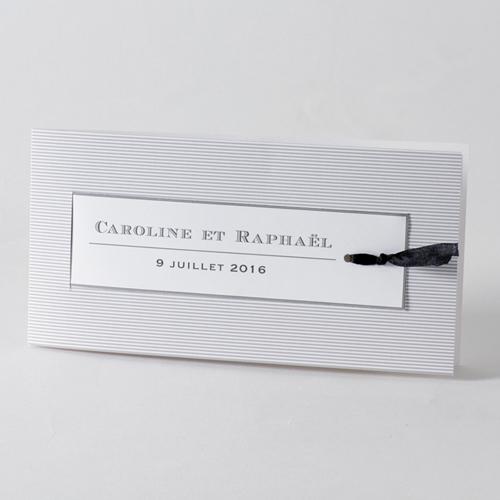Faire-Part Mariage Traditionnel - Belle lignée 45717
