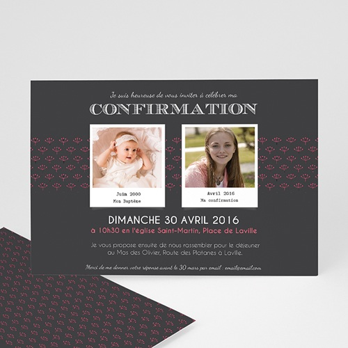 Invitation Confirmation  - Confirmation du baptême 45948