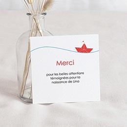 Remerciement Naissance UNICEF - Petit Navire - 0