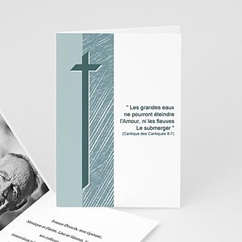 Remerciements Décès Chrétien - Foi en l'avenir - 3