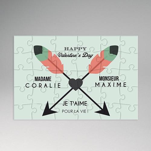 Puzzle bois - Casse-tête d'amour 46757