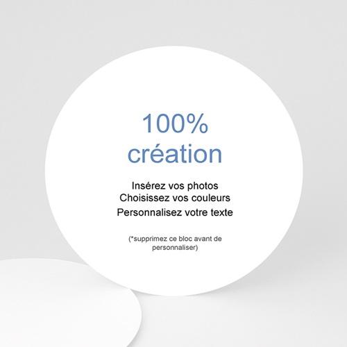 Faire-Part Naissance Fille - 100% CREATION 46786