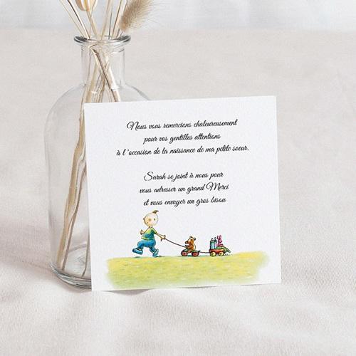 Remerciements Naissance Garçon - Un joli petit garçon 46884