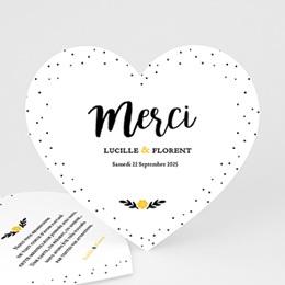Tous les Remerciements Mariage - Mercy - 0